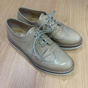 Browns Couture Patent Leather Oxfords